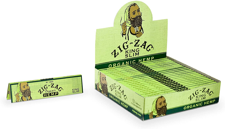 Zig Zag Organic Hemp Paper