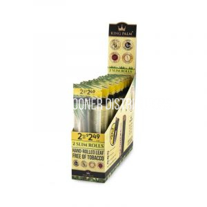 King Palm King size (4 pack) Hand Rolled Leaf Wraps