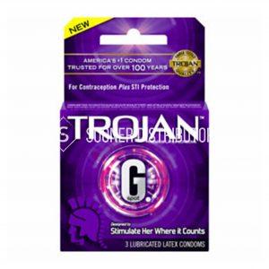 Trojan 3 pack condoms
