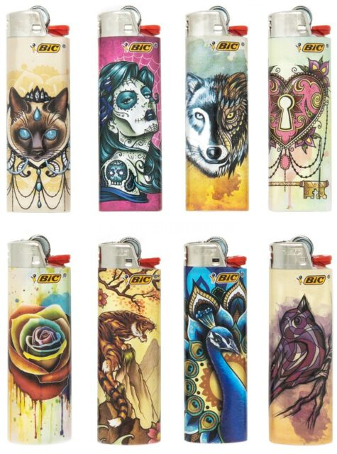 BIC Traditional Tattoos Lighters