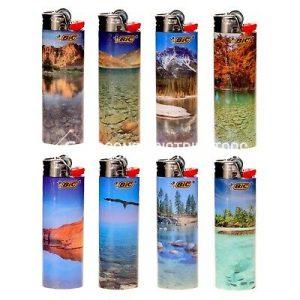 BIC Landscape Lighters