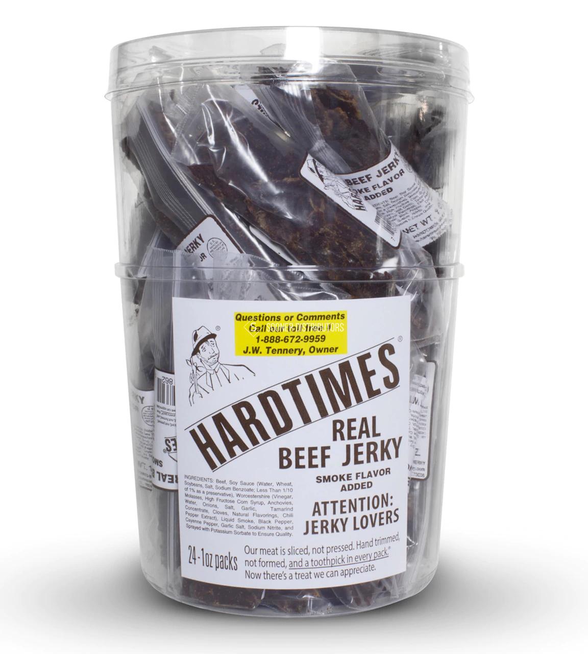 HardTimes Real Beef Jerky Sticks