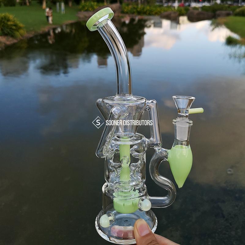 10 Inch Glass Unique Bongs