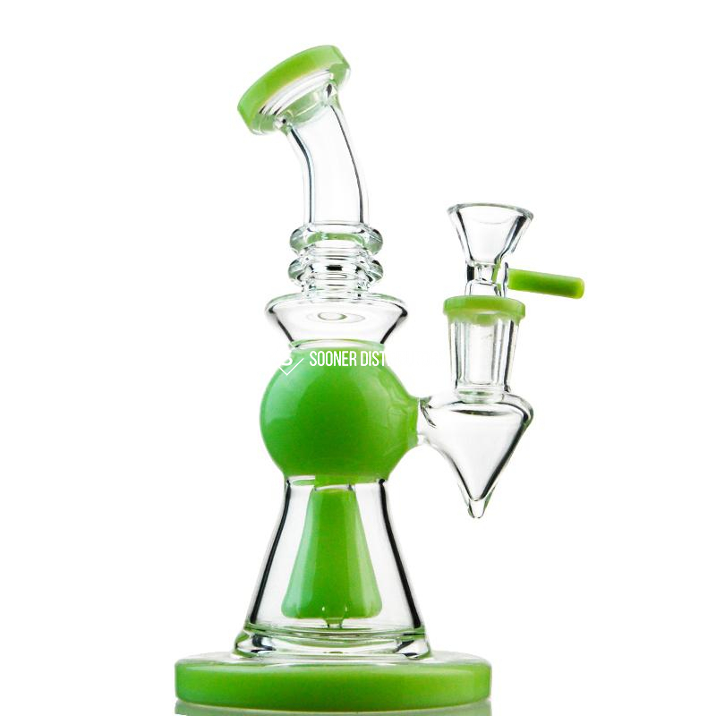Heady Glass Bong Showerhead Perclator Bong