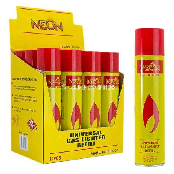 Neon Yellow Butane 300ml