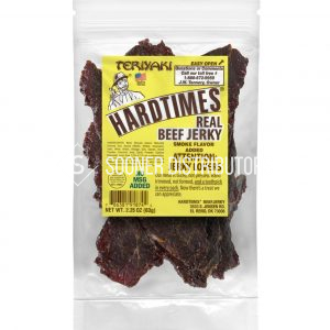 HardTimes Beef Jerky Teriyaki Pouches